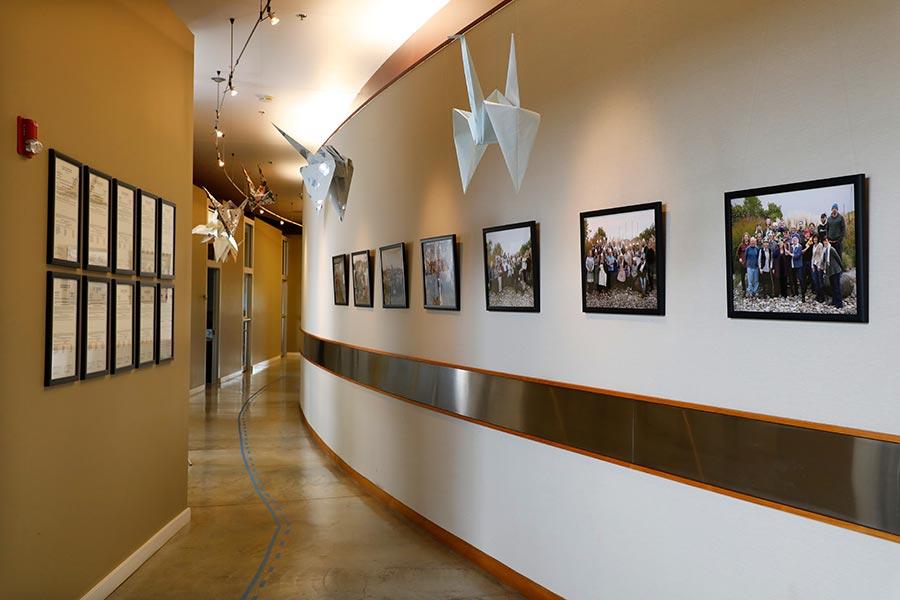 Market building interior hallway, The Rants Group