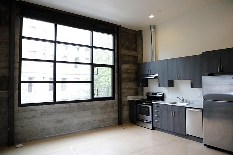 Interior of apartment, Olympia, WA